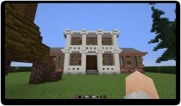 Nice Big Brick Colonial Traditional American House :D Minecraft Project
