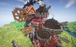Howl's Moving Castle Minecraft Map & Project