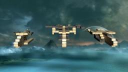 UNSC Hornet, Falcon, Sparrowhawk [1.8x+] [Vehicle pack] Minecraft Map & Project