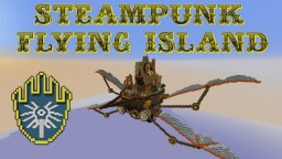 Steampunk Flying Island Minecraft Map & Project