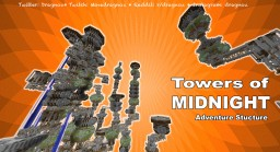 Towers of Midnight: Adventure Structure MC1.10  map V0.6.2) Minecraft Project