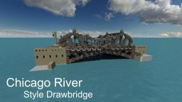 Updated: Chicago River Style Drawbridge Minecraft Map & Project