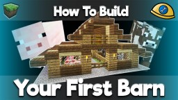 Your First Builds - Complete with tutorials! Minecraft Map & Project