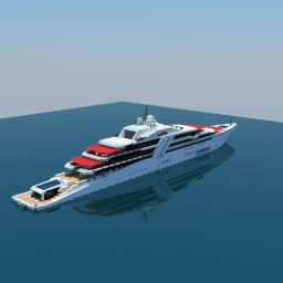 Superyacht  'Zephyr' Minecraft