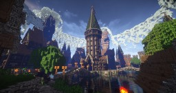 Or-Azur - A Medieval/Fantasy Roleplay Hub Minecraft Map & Project