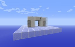 Compact 2x2 Hidden Piston Door Minecraft