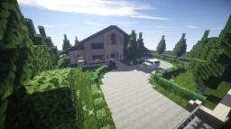 Castello Di Alberi | Modern House Minecraft Project