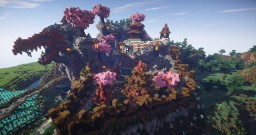 Dragon's Roost: a Japanese survival spawn Minecraft Map & Project