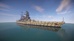 Amagi Class Battlecruiser (1940s Modernization) Minecraft Project