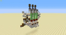 Individual Automated Potion Brewer Minecraft Map & Project