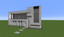 modern & cubic house Minecraft Map & Project