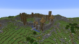 Aldur Castle - Barbarians are coming! Minecraft
