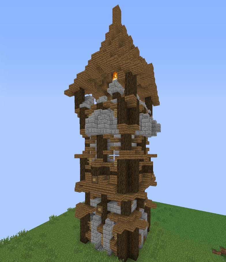 how to build medieval minecraft