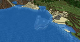 underwater houses Minecraft Map & Project