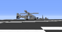 SA365 Dauphin Minecraft Map & Project