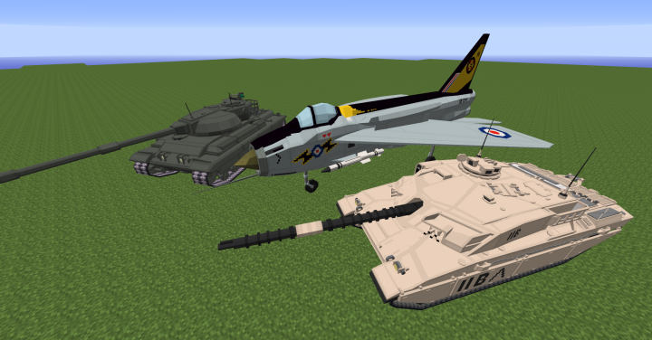 Update 1.4 content, Challenger 1, English Electric Lightning and FV214 Conqueror