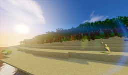 The River Divide - Fertile Tropical Land * Survival Ready! * [ Large ] * [ 1.9.4 ] Minecraft Map & Project