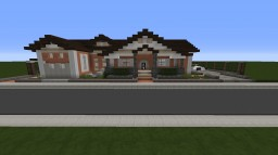 Brick Ranch House Minecraft Map & Project