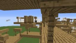 Mineshaft ABOVE ground! Minecraft
