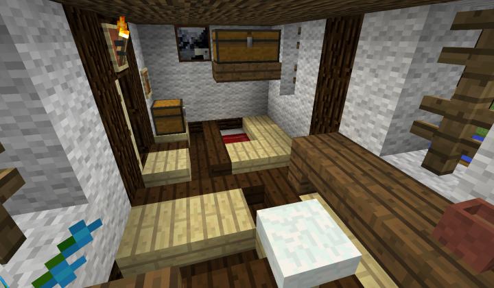 Inside a farmers house