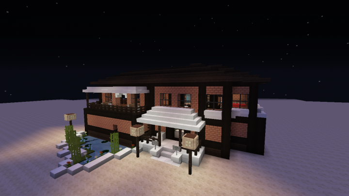 Maison redstone by pe ka 1 8 x minecraft project for Maison classique minecraft