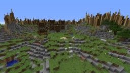 The Mountainous Defences Minecraft Project