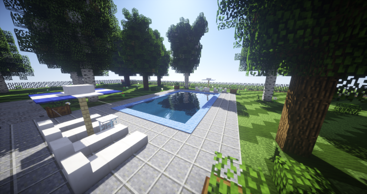 The pool with seus shader