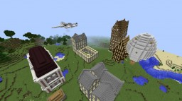 Epic Houses Minecraft Map & Project