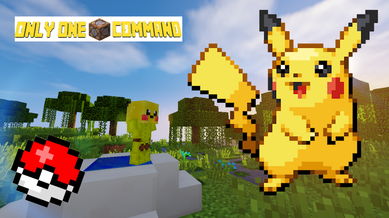 Pokemon - Only One Command Minecraft Project