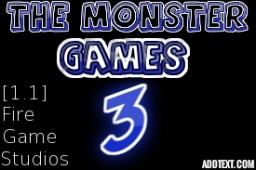The Monster Games: 3 [1.1] Minecraft Map & Project