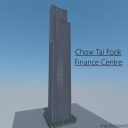 CTF Finance Centre, Guangzhou, China Minecraft Map & Project