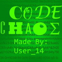 Code Chaos (Challenge Map) Minecraft Project
