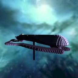 Halo covenant SDV class Heavy Corvette Minecraft Map & Project