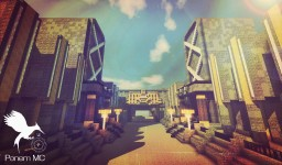 Hunger Games- Panem Capitol:::Avenue,City Circle, and more! Minecraft Map & Project