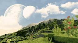 2000x2000 Realistic Custom Terrain - With Download Minecraft