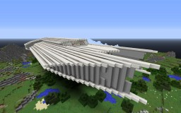 The Ender Sky II Spaceship. The Barbarians are Coming entry. Minecraft Map & Project