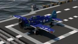F6F Hellcat (4:1) Minecraft