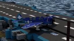 SB2C Helldiver (4:1) Minecraft Map & Project