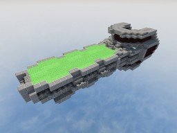 Scorpio Nuke Carrier + Vanilla Jump Drive Minecraft Map & Project