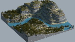 In the Shade of Pines and Rocks Minecraft Map & Project