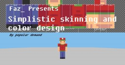 Skinning Tutorial - By popular demand. Everything from hat layer and hair to colors, hue shifting and outfit design! - Popreel~ Minecraft Blog
