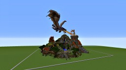 Fire On The Tower Minecraft Map & Project