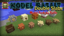 Model Basalt - Double Slabs v1.0 Minecraft Texture Pack