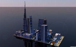 Dubai downtown Minecraft
