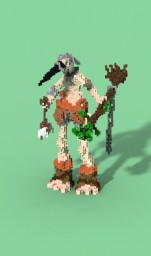 Bird Man Organic Minecraft