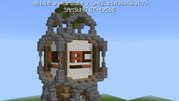 Nice tower with server logo Minecraft Map & Project