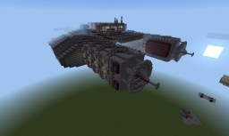 SS. Horizon space battle cruiser Minecraft Map & Project