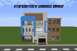 Modern Townhouse Minecraft Map & Project