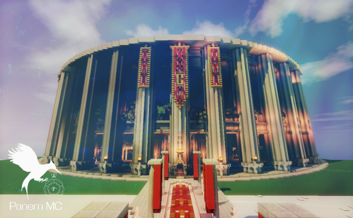 Hunger Games- Panem Capitol:::Avenue,City Circle, and more! Minecraft Map