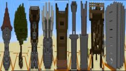 No mod - Random structure generation Minecraft Project